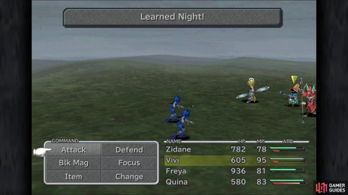 so you can have Quina learn the Night spell