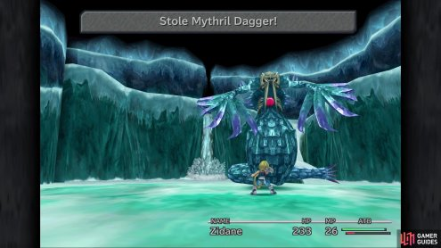 You definitely want to make sure you steal the Mythril Dagger from the Sealion