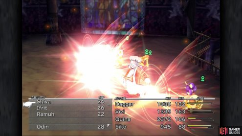 If you have Eiko, use Carbuncle to cast Reflect on your party