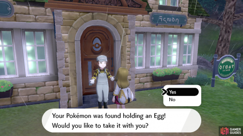 Make sure not to press the B Button or you'll lose your egg forever!