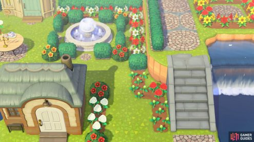 this helps create elaborate gardens for your villagers.