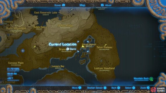 Here is the specific location where Kass is, and the Shrine Quest takes place