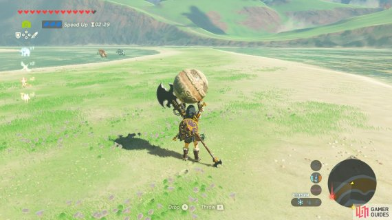But you cannot avoid the Bokoblins and they have spears
