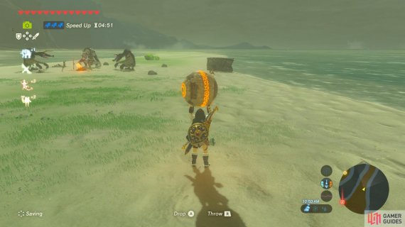You can run past the Moblins if your movement speed is this high