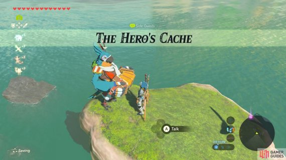 This is one of Kass's many side and Shrine Quests that he has to offer