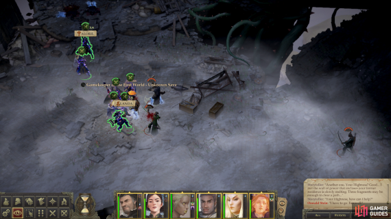 Fight off a group of Wild Hunt foes