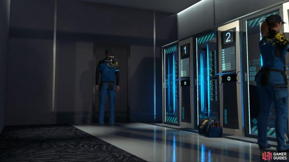 Get inside the server room