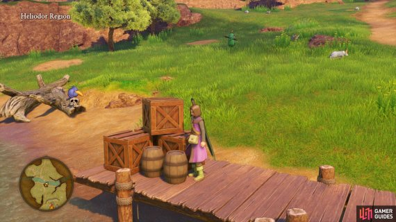 break the barrels along the river north of the Camp to snag yourself a Toad Oil.