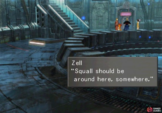 After escaping you'll need to go rescue Squall!
