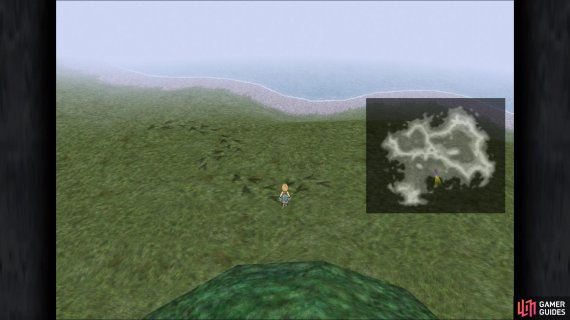 On the world map, you will sometimes see chocobo tracks