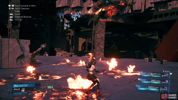 Many of The Valkyrie's attacks can be mitigated with Fire + Elemental.