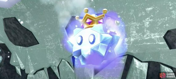 Baron Brrr's first form will be the one that attacks you