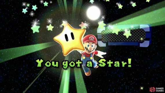 as soon as you touch the star the level is complete