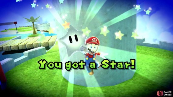 you just need to grab it before Cosmic Mario to win the race!
