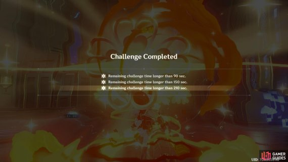 you will get one Abyssal Star per each challenge completed