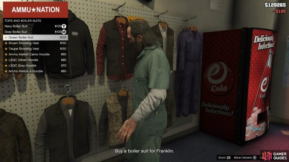 then buy the first boiler suits you see and get out of the store