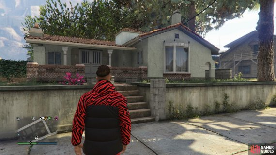 Head up to Paleto Bay and take a look around the apartment