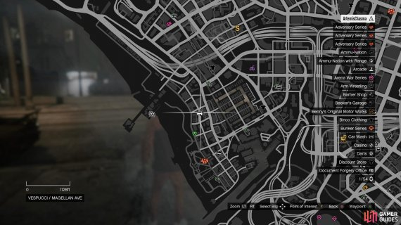 Head to this location on the map