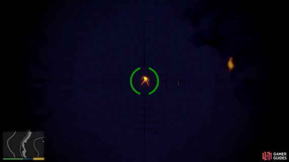 Use the thermal scope to find the enemies