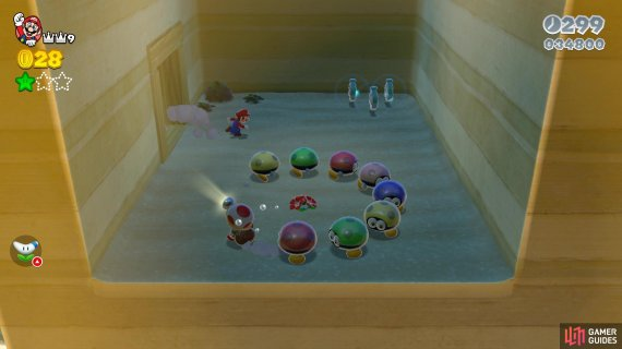 Rescue Captain Toad to get the third Green Star