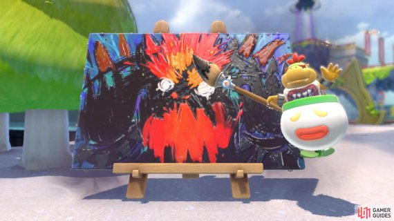 Bowser Jr needs help turning his father back to normal