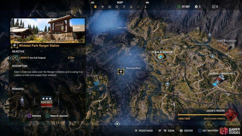 Whitetail Park Ranger Station Far Cry 5 Gamer Guides