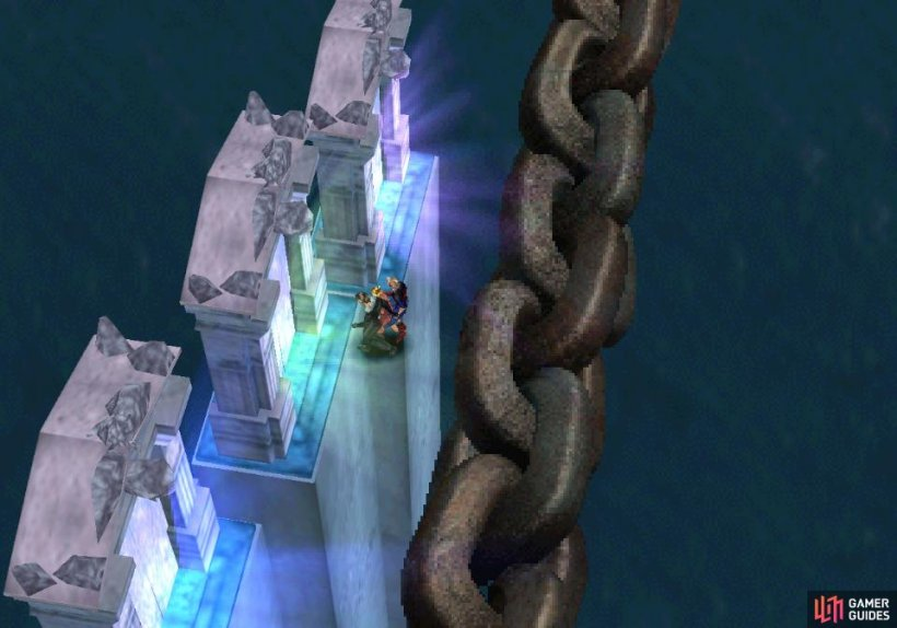 Jump to the central gate outside of Ultimecia's Castle