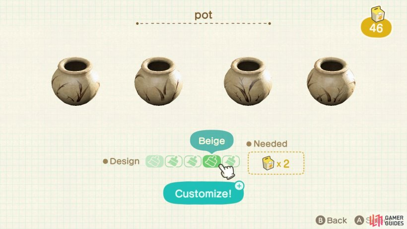 These pots are completely different art styles from each other