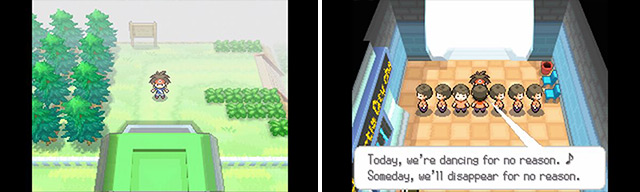 Dang, another area cordoned off until you've beaten the Pokemon League. One day, one day...