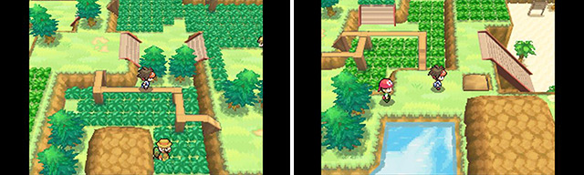 Tada! Now you've got an amazing shortcut to make travel easier along this route (and to the Pokemon Breeder for training sessions).