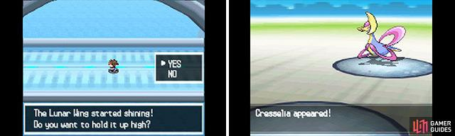 The battle with Cresselia.