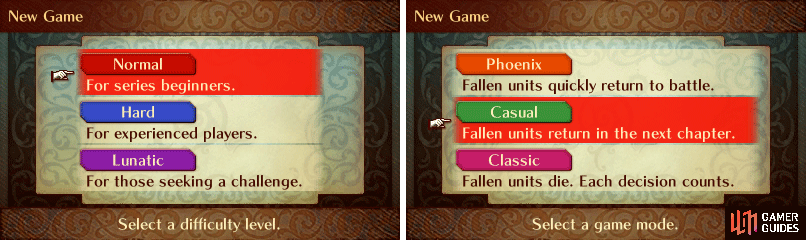 Phoenix Mode is only available on Normal Difficulty!