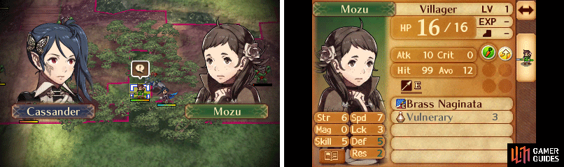 Talk to Mozu to recruit her and have her survive safely.