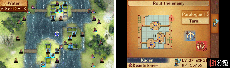 Map of Paralogue 13.