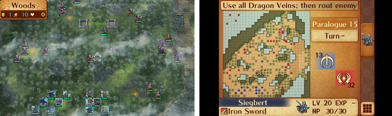 Map of Paralogue 15.