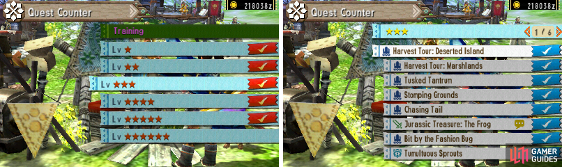 3-star Quests