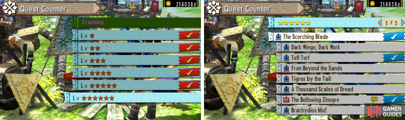 6-star Quests