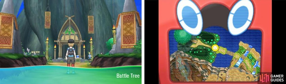 The Battle Tree is the final frontier of your single-player experience.