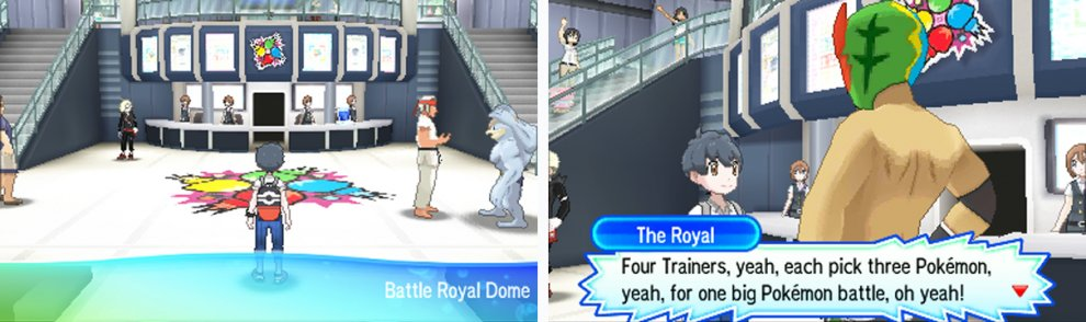 Sometimes you'll battle the Royal himself at Master Rank.