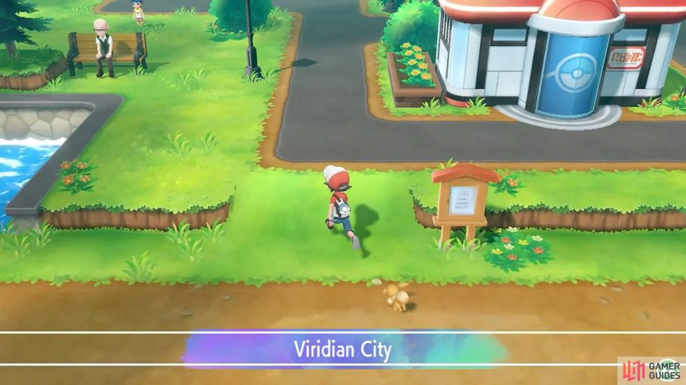 You'll be returning to Viridian City near the end of the game.