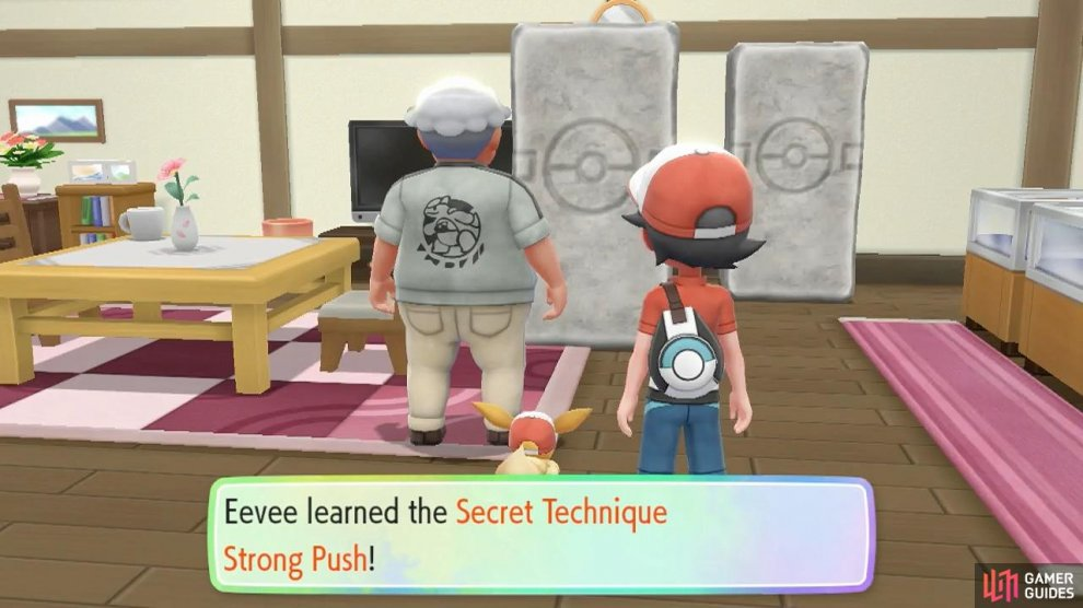Where is Pikachu/Eevee hiding their incredible strength?