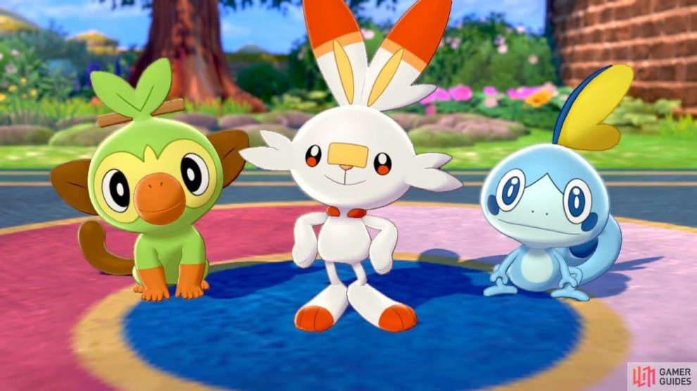 These three Pokémon are very special, because you can't find them in the wild!