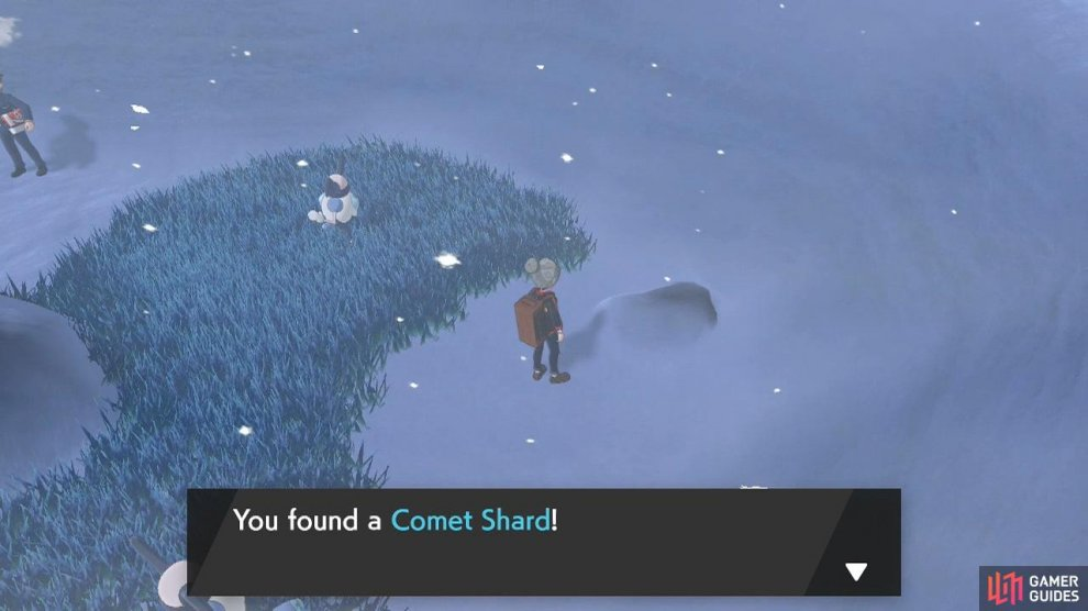 Comet Shards are treasures that you can sell.