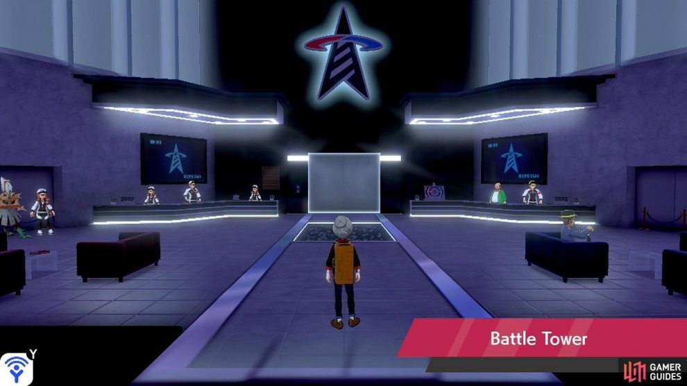 The Battle Tower is the bridge between the relatively easy main story and the harsh world of competitive Pokémon battling.