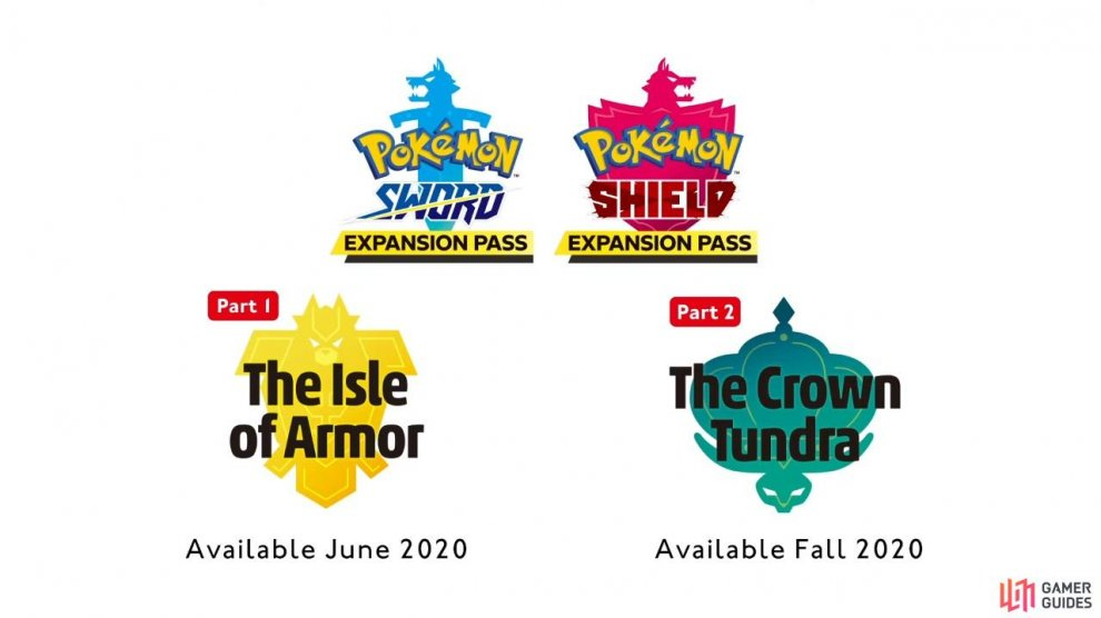 Note that Sword and Shield each have a separate expansion pass.