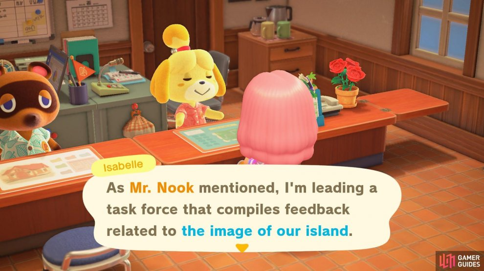 Isabelle is in charge of managing Island Evaluations.