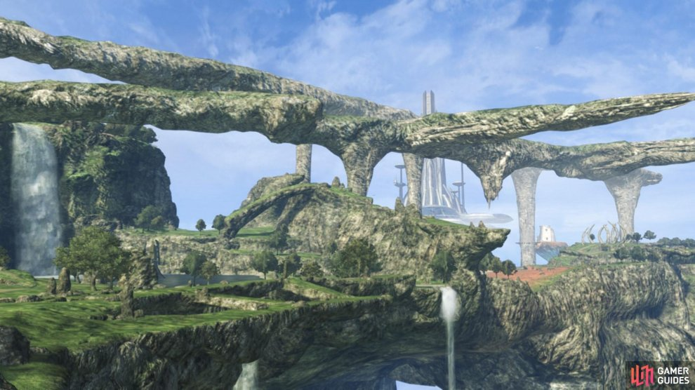The Bionis' Shoulder is a gorgeous addition to the Xenoblade Chronicles world setting.