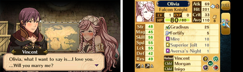 Awakening isn't the first Fire Emblem to have marriage: that was Genealogy of the Holy.