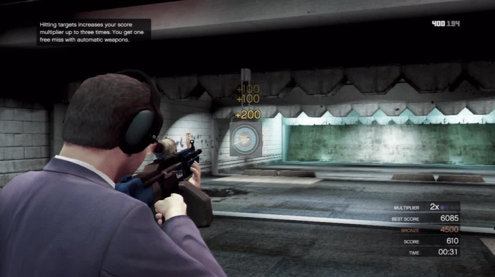 Michael's special will actually recharge a bit as you use the shooting range so try it when you need it.