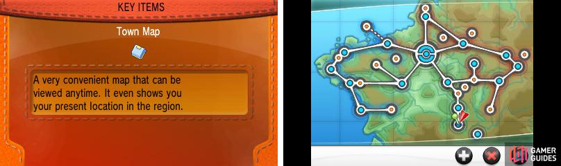 As you progress through the game you'll visit each and every area of Kalos.